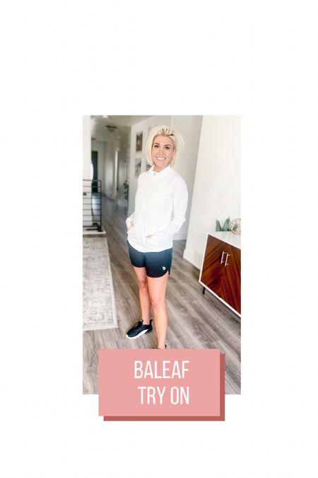 Baleaf Workout Gear try on! All on Amazon! Great quality & totally affordable!    #LTKsalealert #LTKunder50 #LTKfit