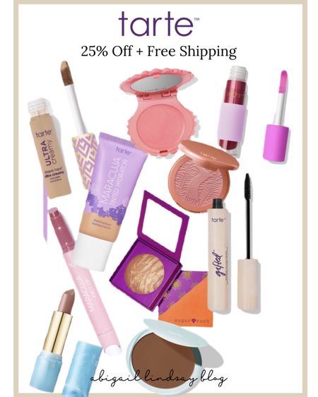 My favorite makeup brand, Tarte Cosmetics is on sale! Now is the time to stock up on your tried and true favorites! I can't recommend their mascaras, blushes, and lip products enough! 💜 http://liketk.it/3ctLw #liketkit @liketoknow.it #LTKSpringSale #LTKbeauty #LTKsalealert Shop your screenshot of this pic with the LIKEtoKNOW.it shopping app