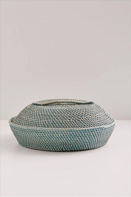 urban outfitters rattan lidded bowl  #LTKhome #LTKSeasonal