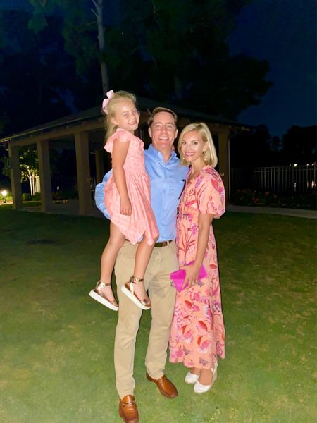 Family date nights are the best! 💗 fall floral dress for the win   #LTKwedding #LTKstyletip