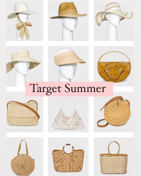Target summer accessories http://liketk.it/3hhFQ #liketkit @liketoknow.it #LTKunder100 #LTKunder50 #LTKsalealert