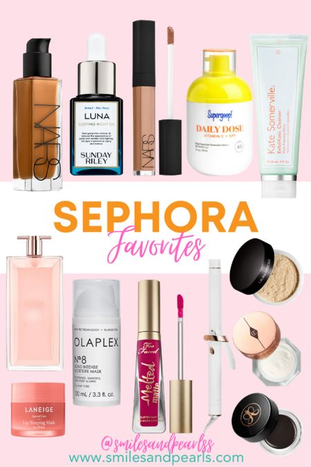 My Sephora Favorites that I absolutely cannot pass up! Use code OMGSPRING for a discount!   #LTKSeasonal #LTKbeauty #LTKcurves