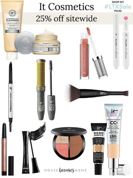 LTK Early Gifting Sale! 25% off sitewide at It Cosmetics!    #LTKbeauty #LTKSale #LTKGiftGuide