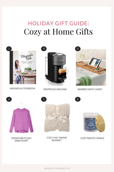 Cozy at home holiday gift guide!  #LTKhome #LTKgiftspo