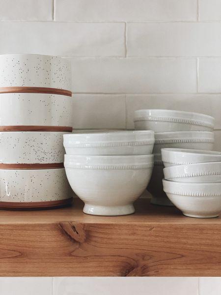 Neutral creek bowls #kitchenfinds   #LTKhome