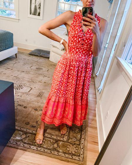Boho maxi dress http://liketk.it/3iQv3 #liketkit @liketoknow.it #30daysofrealoutfits #LTKunder50 #LTKstyletip