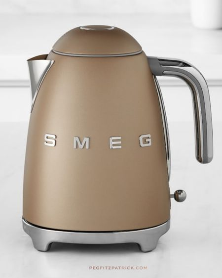 Stunning SMEG electric tea kettle. Treat yourself or your favorite tea lover. #StayHomeWithLTK #LTKgiftspo #LTKhome http://liketk.it/331W6 #liketkit @liketoknow.it Follow me on the LIKEtoKNOW.it shopping app to get the product details for this look and others  tea lovers | kitchen gifts | holiday gifts | gifts for her | gifts for mom