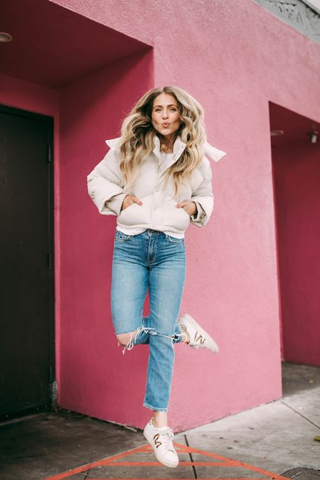 💋   http://liketk.it/389H7 #liketkit @liketoknow.it  Puffer jacket, jacket, fashion, revolve