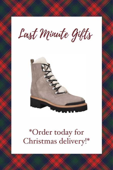 LAST MINUTE CHRISTMAS GIFT IDEAS UNDER $250! Order today from Nordstrom for guaranteed delivery! These Marc Fisher izzie boots are SUCH a great gift idea for her! True to size! Nordstrom gift guide— gift guide for her #liketkit #LTKgiftspo @liketoknow.it http://liketk.it/34fkF