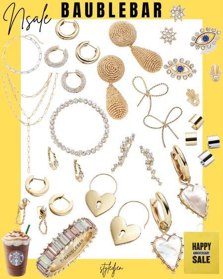 Nordstrom anniversary sale Baublebar jewelry       #LTKunder100 #LTKsalealert #LTKunder50
