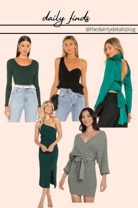 Daily finds: fall outfits, fall dresses, fall wedding, wedding guest dress, green sweater  #LTKunder100 #LTKstyletip #LTKSeasonal