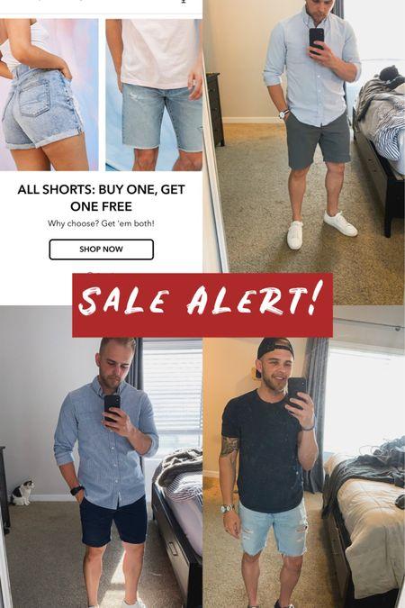 Killer sale going on until the 6th at American Eagle. Shorts are BOGO http://liketk.it/2RGvZ #liketkit #LTKunder50 #LTKsalealert #LTKmens @liketoknow.it