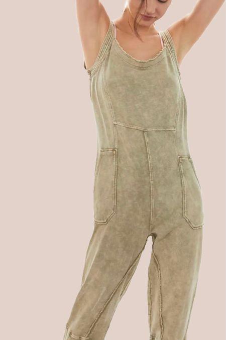 jumpsuit, casual, loungewear, sweatpants, comfy, home outfits http://liketk.it/3hZpz #liketkit @liketoknow.it #LTKhome #LTKunder100 #LTKtravel