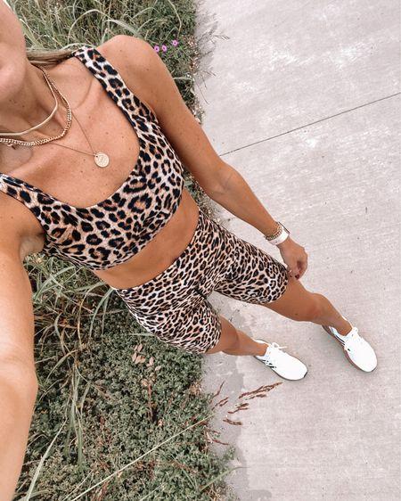 leopard biker shorts @liketoknow.it http://liketk.it/2YjSa #liketkit #LTKfit #LTKunder100