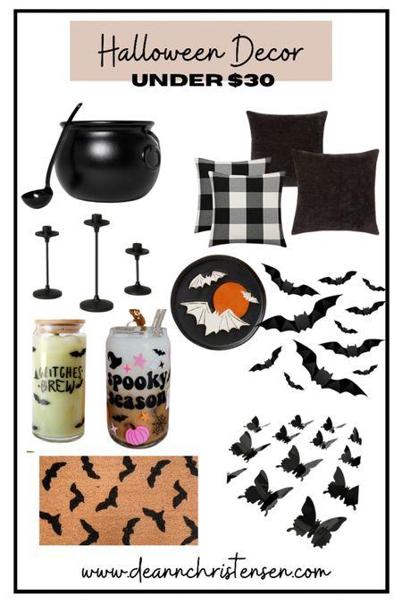 Halloween Decor under $30 🖤🦇🕷👻  #LTKHoliday #LTKSeasonal #LTKGiftGuide