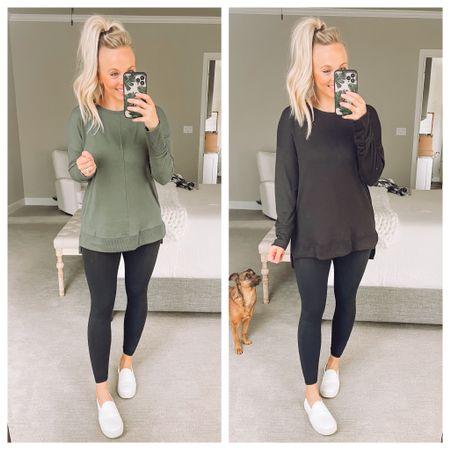Wearing a medium In the tunic. Walmart fashion, walmart   #LTKunder50 #LTKstyletip #LTKSeasonal