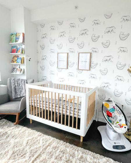 Nursery ideas, nursery, gender neutral nursery, baby nursery, baby room, crib, #LTKbaby #LTKbump #LTKhome  http://liketk.it/3gdCl #liketkit @liketoknow.it
