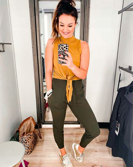 Lululemon Try On // Golden Goose Dupes - Amazon Prime Find  // Size up one in leggings and joggers Lululemon I ordered size 6 // Golden Goose Dupes - size medium equivalent to size 6 // Athleisure // Christmas Gift Idea // Gifts For Her // Jacket // Stacks by Lindsey // ABLE Necklace- use code HEATHER20  http://liketk.it/3238Z  #liketkit @liketoknow.it #LTKstyletip #LTKunder100 #LTKshoecrush Shop your screenshot of this pic with the LIKEtoKNOW.it shopping app
