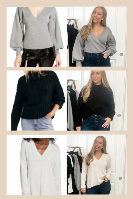 Some of my favorite sweaters from the sale are back in stock!!  RUN! http://liketk.it/2UotM #liketkit @liketoknow.it