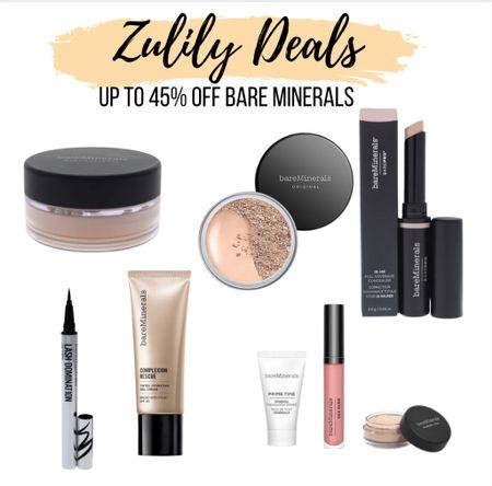 Up to 45% off Bare Minerals @zulily  #zulilyfinds     #LTKbeauty #LTKunder50 #LTKsalealert