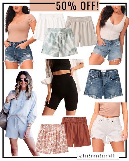 Abercrombie shorts 50% off!   http://liketk.it/3kcuM #liketkit @liketoknow.it   #LTKsalealert