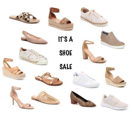 DSW shoe sale! Use code: SHOELOVE - $10 off $49, $20 off $99 and $60 off $199!    http://liketk.it/2JTPY #liketkit @liketoknow.it #LTKsalealert #LTKshoecrush #LTKspring   Shoes // wedges // leopard print shoes // flats // sling back shoes // white sneakers // neutral shoes // leopard sandals // nude heels // spring shoes // summer sandals