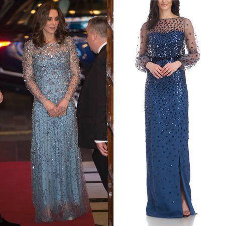 Kate inspired gown #sequin #fancy   #LTKeurope #LTKstyletip
