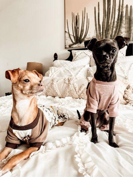 Neutral boho bedroom.  Boho throw pillows from Amazon. Cactus Wall Art. Dog Monkey Pajamas. Dog Love You to The Moon Pajamas. Pottery Barn Glass Table Lamp.  Amazon Finds. Pottery Barn Finds. #amazon #potterybarn   #LTKhome #LTKunder50 #LTKSeasonal