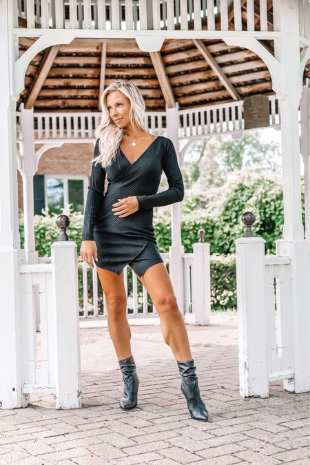 """""""And suddenly you know… It's time to start something new and trust the magic of beginnings.""""   How good is this sweater dress from @revolve?! I 🤍 it! It's linked on my @shop.ltk page found in bio. #revolvebassador #revolvesummer   #sweaterdress #fallideas2021 #fallstyleguide #newchapter #adventureawaits #allingodstiming   #LTKSeasonal #LTKstyletip"""