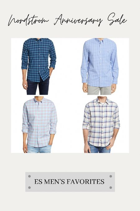 A few #nsale favorites for the guys on this Tuesday evening before public access begins tomorrow!  Sharing a few of our favorite men's casual shirts tonight… 💙  #LTKunder100 #LTKmens #LTKsalealert