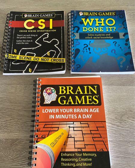Brain games adult puzzles self isolation home quarantine stay home workbook homeschool homeschooling covid-19 coronavirus   @liketoknow.it #liketkit http://liketk.it/2M9zX #StayHomeWithLTK #LTKhome @liketoknow.it.home @liketoknow.it.family #LTKfamily