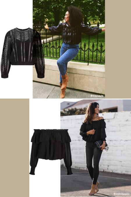 Where did you get that top? From Express, of course! Check out these two gorg tops great for fall outings.    Ruffle Off The Shoulder Top  Lace And Leather Cropped Top   #lace #leather #croptop #fallfashion #winterfashion #datenightoutfit #express   http://liketk.it/3qu2l @liketoknow.it #liketkit
