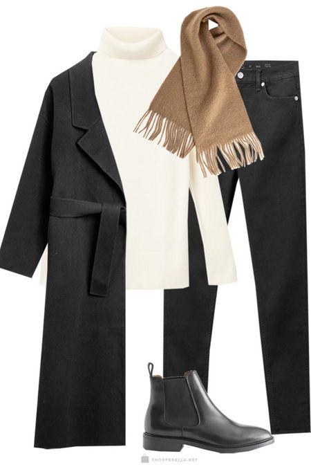 Winter layers | ootd | outfit inspo | oversized coat | boots | winter layering http://liketk.it/35kru @liketoknow.it #liketkit #LTKstyletip #LTKunder100 #LTKitbag
