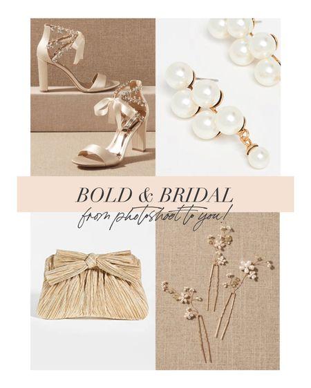 Bringing bold bridal accessories from editorial to you!   #LTKshoecrush #LTKwedding #LTKstyletip
