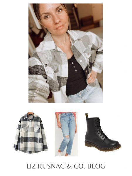Neutral Grey Shacket - so cozy for running errands! #liketkit http://liketk.it/37hOa @liketoknow.it #LTKSeasonal #LTKunder50 #LTKstyletip