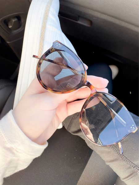 Sunglasses! Love these amazon shades, so affordable & come in tons of color options - shown in the tortoise option.  #LTKSeasonal #LTKunder100 #LTKunder50