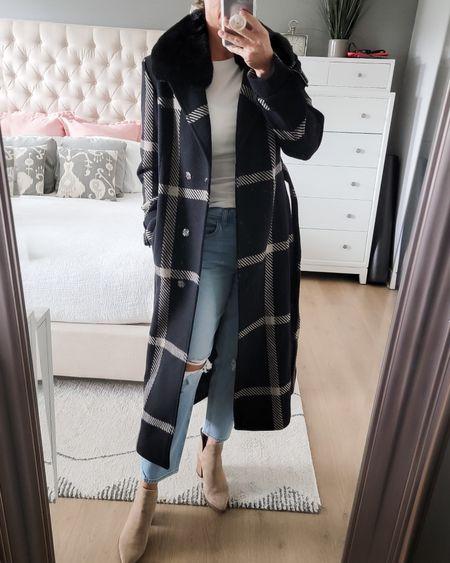 Beautiful wool trench coat under $100 http://liketk.it/3paAu @liketoknow.it #liketkit #LTKSeasonal #LTKbump #LTKstyletip #LTKunder100 #LTKworkwear #LTKtravel