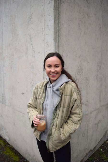 Free People quilted dolman jacket - wearing xs (true to size   @liketoknow.it http://liketk.it/3bAYw #liketkit #LTKstyletip #LTKtravel