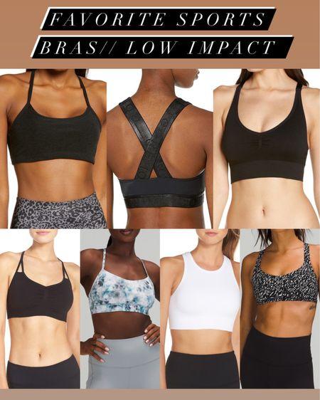 Low impact workout sports bras #liketkit @liketoknow.it http://liketk.it/3hYOF #LTKfit #LTKunder100 #LTKunder50