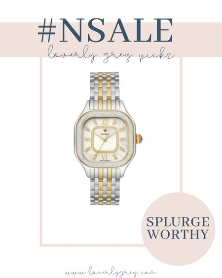My watch was restocked in the two toned color!!  #LTKsalealert #LTKstyletip