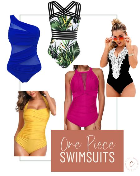 These are my favorite one piece swimsuits on Amazon. I got them for less than $30.  #LTKswim #LTKunder50 #LTKtravel