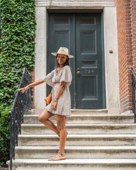 Very cute flowy dress for summer, Very comfortable studded sandals, Rocking my fav fedora hat.  PC: http://liketk.it/3hFmU thefashionadmin #LTKstyletip #LTKunder50 #LTKunder100 #LTKitbag #LTKfit @liketoknow.it #LTKtravel #LTKworkwear #LTKshoecrush #LTKsalealert #dress#fedorahat#studdedsandals #liketkit