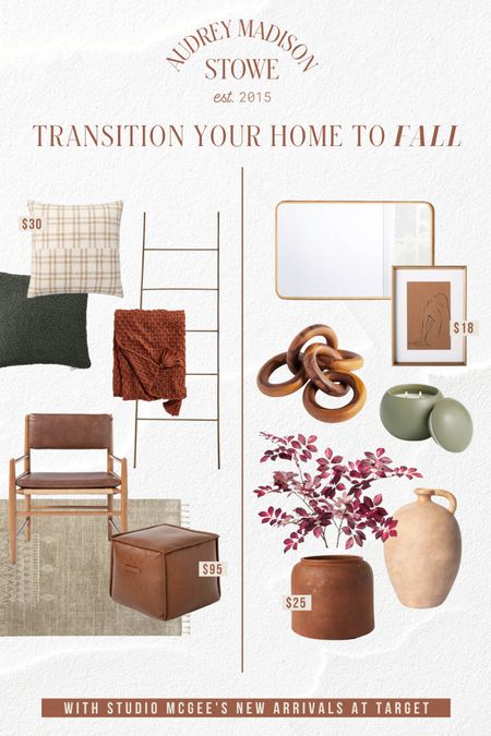 Fall transition home decor and furniture from Target  #LTKSeasonal #LTKstyletip #LTKhome