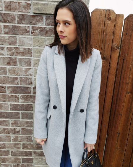 A classic wool coat is such a versatile piece of outerwear for chic winter style ☁️ This gray one is from Zara (so I can't link it), but I linked several similar options in the @liketoknow.it app! I love coats that are easy to dress up and down 🤍 http://liketk.it/36n2z #liketkit #LTKstyletip #LTKworkwear #ChicStyle #WinterStyle #WoolCoat