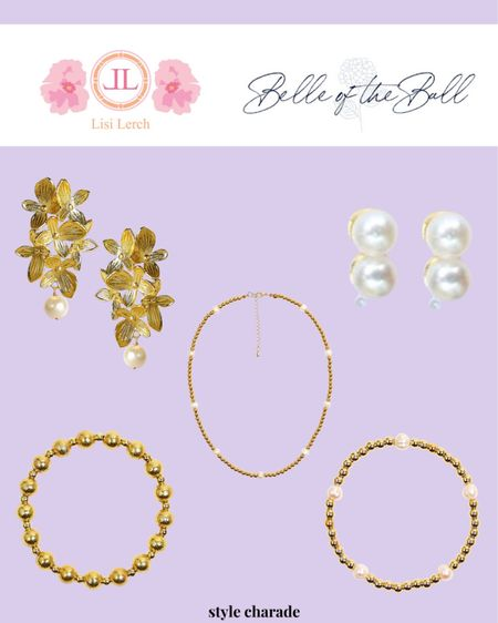 Holiday jewelry, holiday gift ideas, jewelry under $100, gold earrings   #LTKGiftGuide #LTKunder100 #LTKHoliday