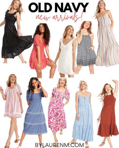 @oldnavy new arrivals! The best Old Navy new dresses! Casual dresses, summer dresses, 4th of July options, Fourth of July finds @liketoknow.it http://liketk.it/3gkyN #liketkit #LTKunder100 #LTKsalealert #LTKunder50 affordable dresses, maxi dresses, mini dresses, midi dresses #oldnavy
