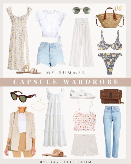 Summer capsule wardrobe   #LTKunder100 #LTKSeasonal #LTKunder50