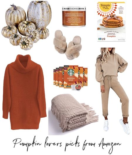 Fall decor, fall sweater, fall outfit, Amazon fashion, Amazon finds  #LTKSeasonal #LTKunder50 #LTKhome
