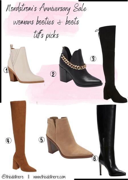 Nsale boots and bootie picks  #LTKsalealert #LTKshoecrush #LTKstyletip