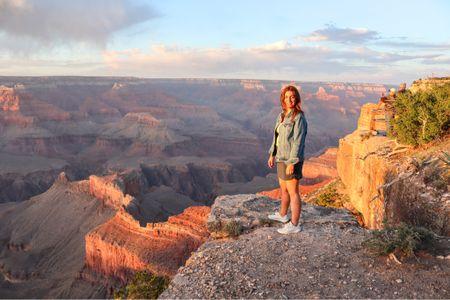 Sunset at the Grand Canyon was wildly beautiful! #liketkit #LTKtravel @liketoknow.it http://liketk.it/3jTpX